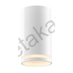 Plafonska lampa 1xGU10 GRAL bela