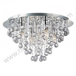 Kristalna luster plafonjera prečnik 46cm CRYSTAL-R kristali K5