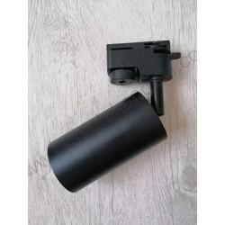 Šinski reflektor 1xGU10 ARTE crni