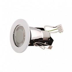 Rozetna metalna - ugradna lampa HL600 bela