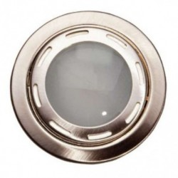 Rozetna metalna - ugradna lampa VT9270 mat hrom