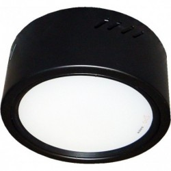 Nadgradna LED lampa M2053 12W crna