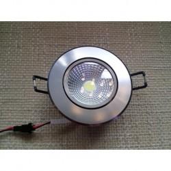 Ugradna LED lampa LILYA-3 okrugla 3W HL698LE 6400K mat hrom