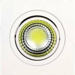 Ugradna LED lampa četvrtasta 5W HL6701L bela/toplo bela