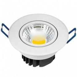 Ugradna LED lampa LILYA-3 okrugla 3W HL698LE 6400K bela