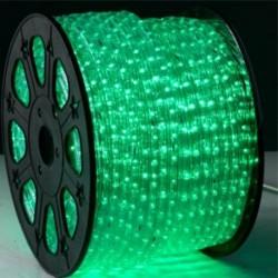 LED svetleće crevo zeleno kotur 100m