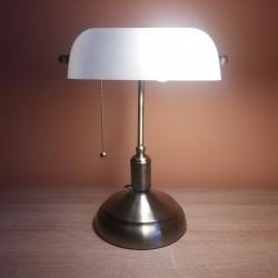 Stona lampa bankarka M1054 bela