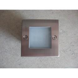 Ugradna LED lampa 0,9W GUMUS HL951L mat hrom