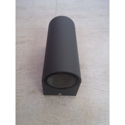 Baštenska zidna lampa 2xGU10 M952010 antracit siva