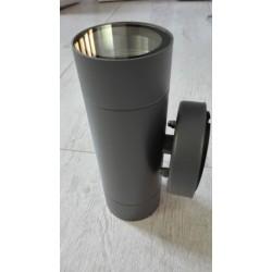 Baštenska zidna lampa 2xGU10 M950010 antracit siva