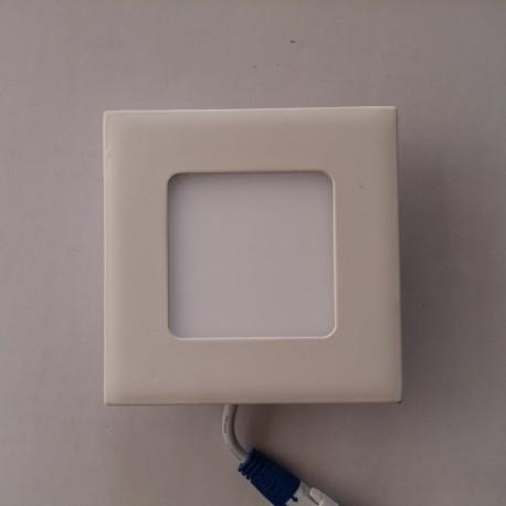 LED panel 3W četvrtast M3UK 6500K
