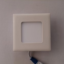 LED panel 3W četvrtast M3UK 3000K