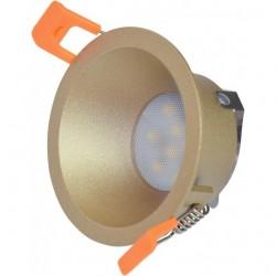 Ugradna lampa M206173 šampanj zlatna metal