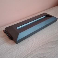Spoljna nadgradna LED lampa INCIR 4200K crna