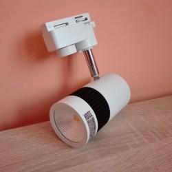 LED šinska lampa HL837L 13W MILANO-13 bela