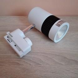 LED šinska lampa HL836L 8W MILANO-8 4200K bela
