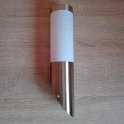 Baštenska zidna lampa - baklja 1xE27 M911 mat hrom