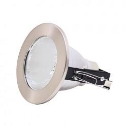 Rozetna metalna - ugradna lampa HL602 mat hrom