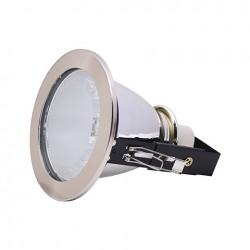 Rozetna metalna - ugradna lampa HL604 mat hrom