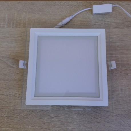 LED panel ugradni 15W MARIA-15 HL686LG 6400K stakleni