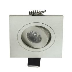Ugradna LED lampa HL670L 1W ELENA-1 6400K mat hrom