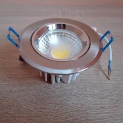 Ugradna LED lampa okrugla 3W HL698L MELISA-3 4200K mat hrom
