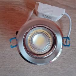 Ugradna LED lampa okrugla 3W HL698L MELISA-3 6400K mat hrom