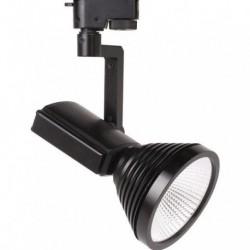 LED šinska svetiljka HL824L 12W PRAG-12 4200K crna