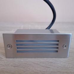 Ugradna LED lampa 1,2W HL955L AMBER mat hrom