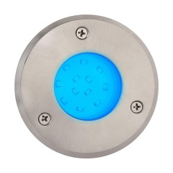 Spoljna LED lampa za ugradnju u beton HL940L SAFIR plava