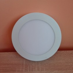 LED nadgradni panel 12W okrugli M12NO 3000K