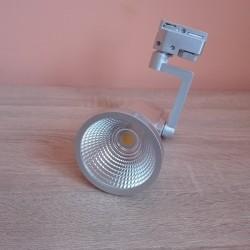 LED šinska svetiljka HL823L 7W PRAG-7 4200K srebrna