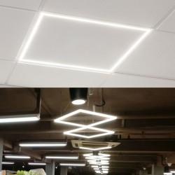 LED panel ram 48W kvadratni LPN-F6060W-48/W 6000K