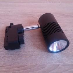 LED šinska lampa HL836L 8W MILANO-8 4200K crna